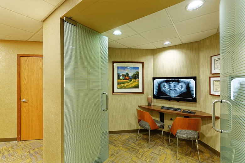 Outside of private consultation room