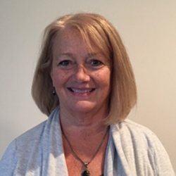 Headshot of business administrator Sharon